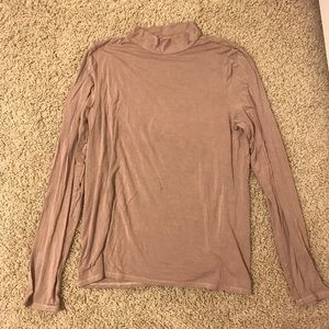 American Eagle Soft & Sexy mock neck top